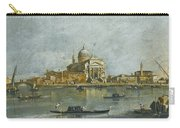 Venice. A View Of The Church Of San Giorgio Maggiore Carry-all Pouch