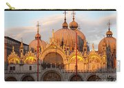Venice Church Of St. Marks At Sunset Carry-all Pouch