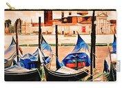 Venice, City Of Romance, Italy, Gondolas Carry-all Pouch