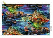 Venice Coming And Going Carry-all Pouch