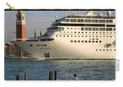Venice Cruise Ship 2 Carry-all Pouch