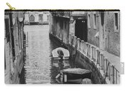 Venice Docked Boats Carry-all Pouch