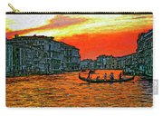 Venice Eventide Impasto Carry-all Pouch