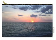 Venice Florida Sunset Carry-all Pouch