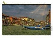 Venice Grand Canal God Sun Rays Carry-all Pouch