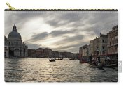 Venice Italy - Pearly Skies On The Grand Canal Carry-all Pouch