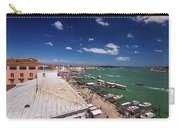 Venice Lagoon Panorama - Bird View Carry-all Pouch