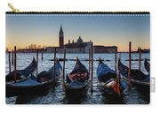 Venice Sunrise With Gondolas Carry-all Pouch