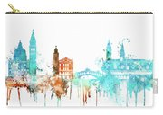 Venice Watercolor Skyline Carry-all Pouch