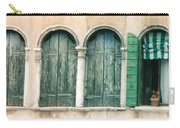 Venice Window Flower Pot Carry-all Pouch