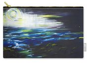 Ventura Seascape At Night Carry-all Pouch