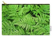 Verdant Ferns Carry-all Pouch