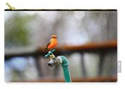 Vermilion Flycatcher Two Carry-all Pouch