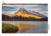 Vermillion Lakes And Mt Rundle II Carry-all Pouch