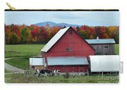 Vermont Cows At The Barn Carry-all Pouch