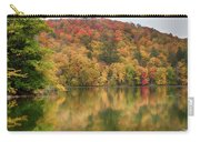 Vermont Fall Foliage Reflected On Pogue Pond Carry-all Pouch