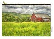 Vermont Farm Landscape Pencil Carry-all Pouch