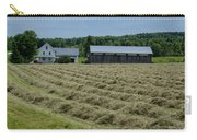 Vermont Farmhouse With Hay Carry-all Pouch