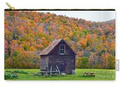 Vermont Garden Shed In Autumn Carry-all Pouch