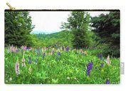 Vermont Lupine Carry-all Pouch
