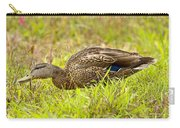 Vermont Mallard Portrait Carry-all Pouch