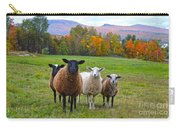 Vermont Sheep In Autumn Carry-all Pouch