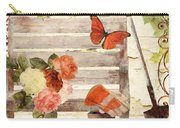 Vermont Summer Park Bench Carry-all Pouch