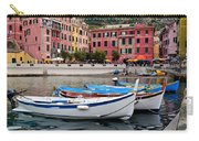 Vernazza Fishing Boats Carry-all Pouch