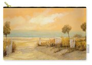 Verso La Spiaggia Carry-all Pouch by Guido Borelli