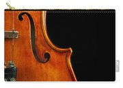 Vertical Violin Art Carry-all Pouch