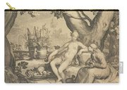 Vertumnus And Pomona, 1605  Carry-all Pouch