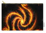 Very Big Red Gold Spiral Galaxy Carry-all Pouch