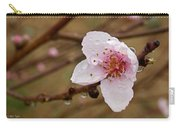 Very Early Peach Blooms Carry-all Pouch