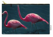 Very Pink Flamingos Carry-all Pouch