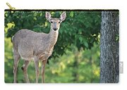Very Pregnant Doe Carry-all Pouch
