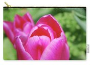 Very Pretty Dark Pink Tulip Flower Blossom Carry-all Pouch