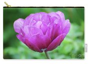Very Pretty Lavender And Pink Tulip Blossom Flowering Carry-all Pouch