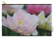 Very Pretty Pale Pink Parrot Tulip Flower Blossom Carry-all Pouch