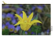 Very Pretty Yellow Tulip With Spikey Petals Carry-all Pouch