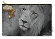 Very Sad Lion, Cry For Africa Carry-all Pouch