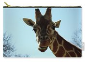 Very Tall Giraffe Carry-all Pouch