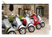 Vespas In Line Carry-all Pouch