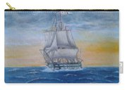 Vessel At Sea Carry-all Pouch