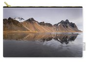 Vestrahorn Mountain In Stokksnes Iceland Carry-all Pouch