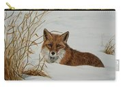 Vexed Vixen - Red Fox Carry-all Pouch