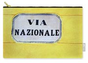 Via Nazionale Carry-all Pouch