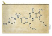 Viagra Molecular Structure Vintage Carry-all Pouch