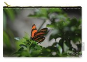 Vibrant Colors To A Orange Oak Tiger Butterfly Carry-all Pouch