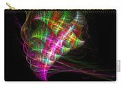 Vibrant Energy Swirls Carry-all Pouch