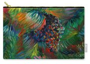 Vibrant Grapes Carry-all Pouch by Nadine Rippelmeyer